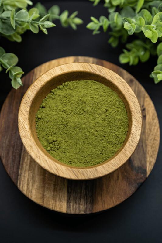 Green Bali Kratom Powder Mitragyna Speciosa