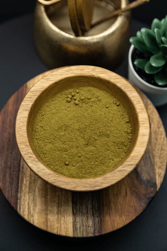 Green Ketapang Kratom Powder Mitragyna Speciosa