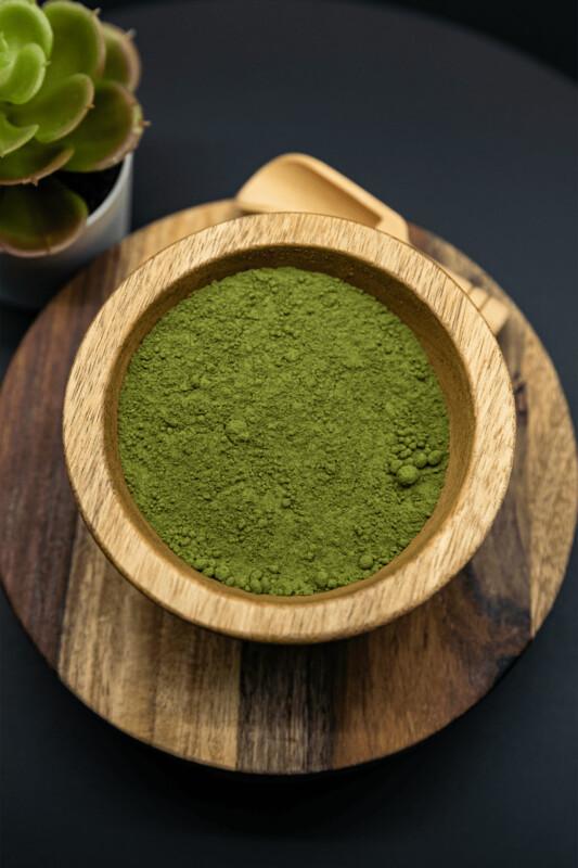 Green Sandai Kratom Powder Mitragyna Speciosa