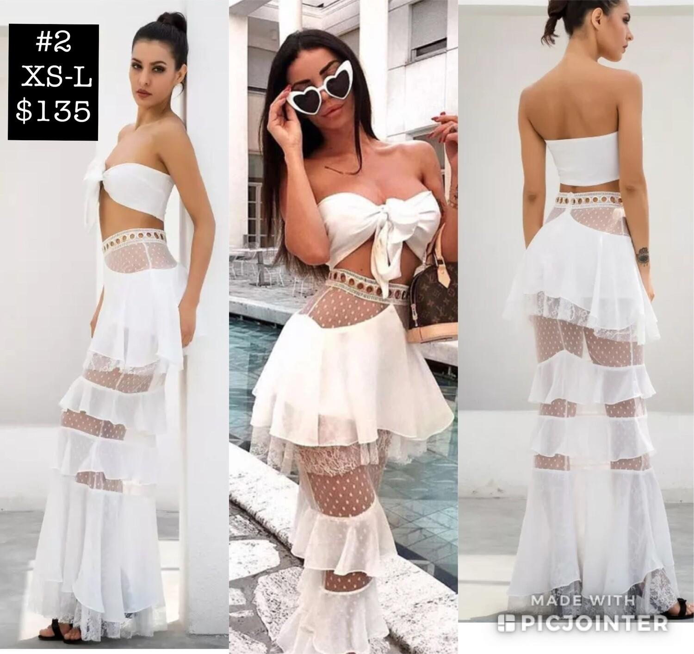 2 piece Fashion Dress