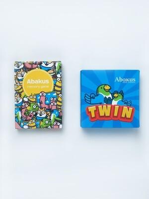 TWIN + Abakus Memory (комплект из 2-х игр)