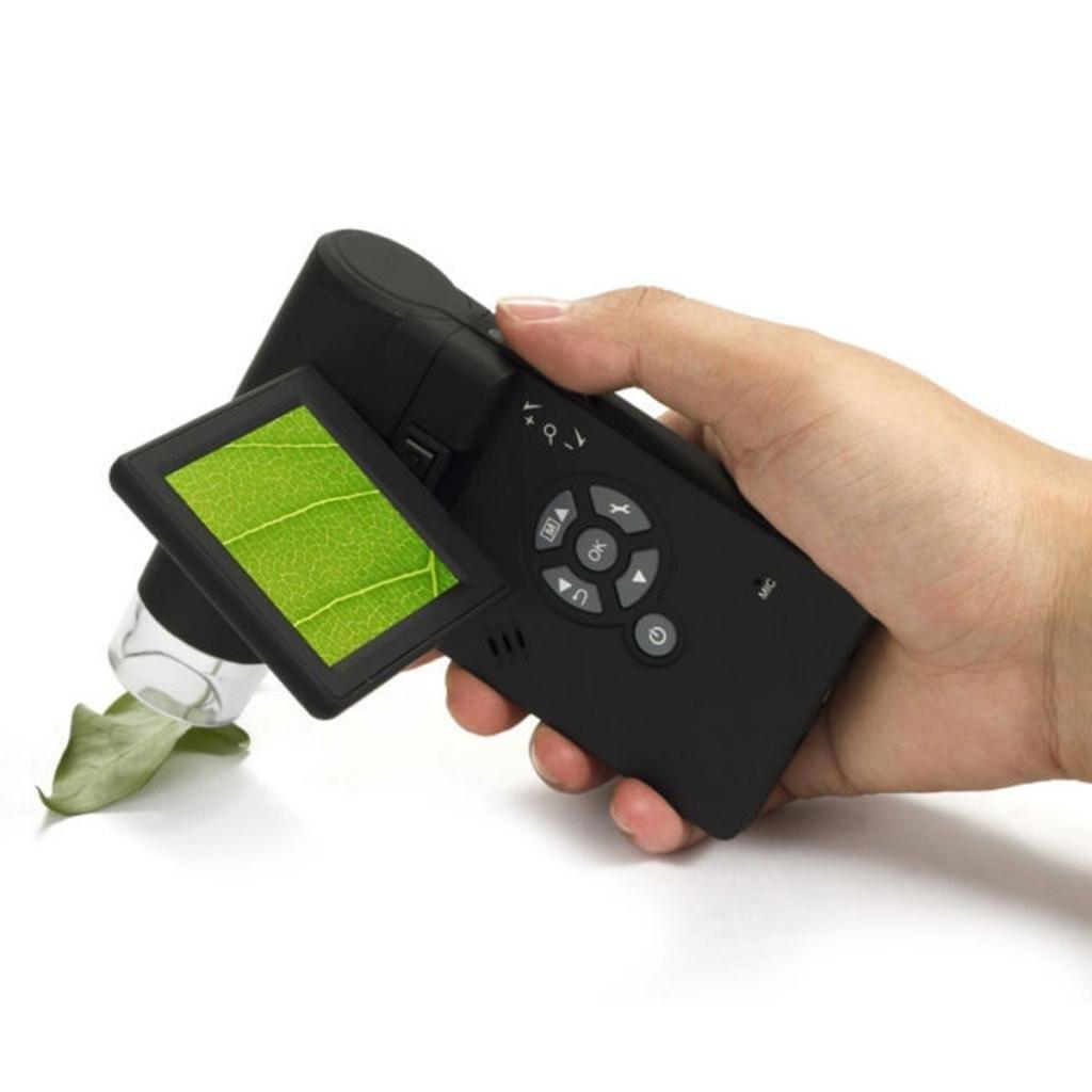 500X Professional Handheld LCD Digital Microscope 3 inch 5.0MP LCD Display USB port