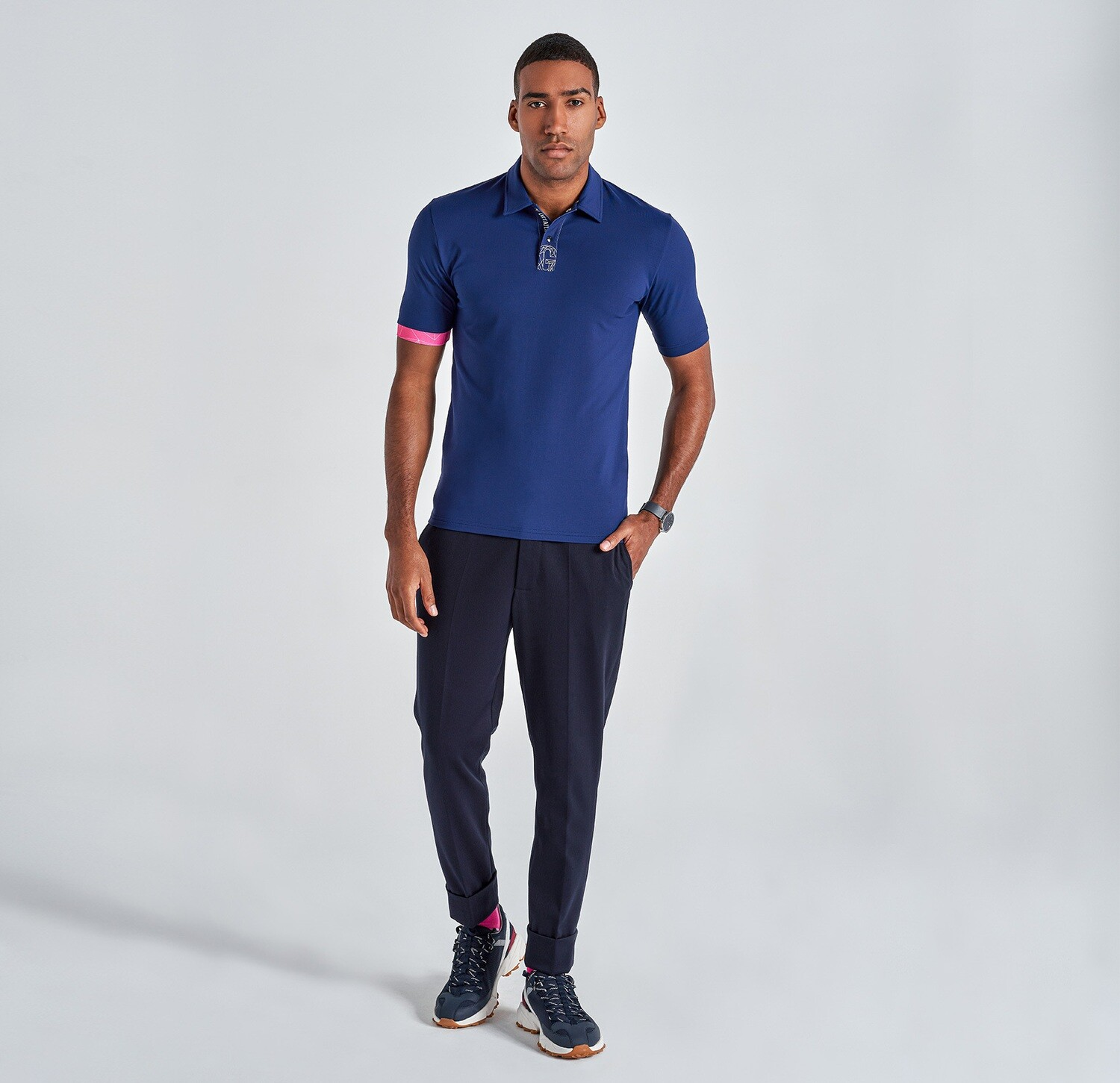 Camisa POLO NAVY BLUE Gyeon