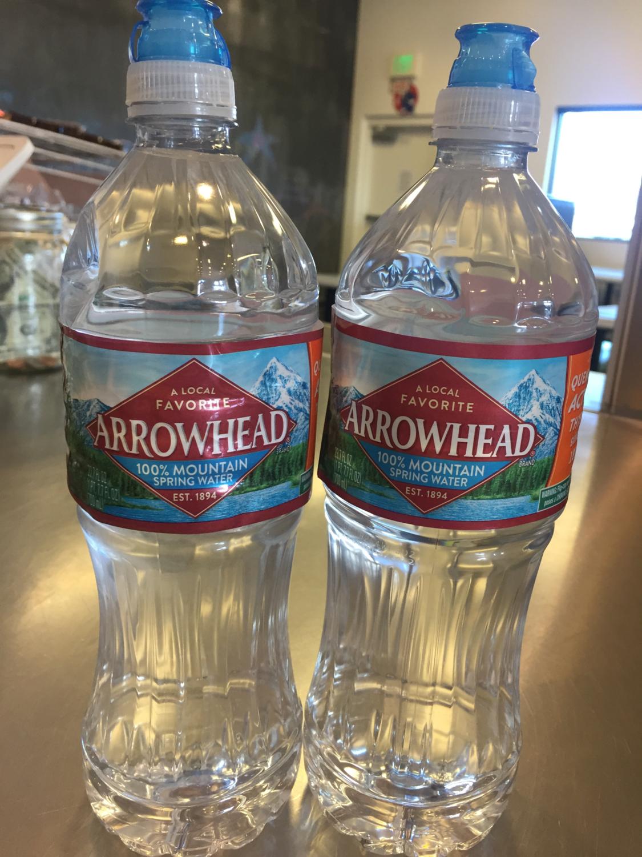 16 Oz. Arrowhead Water Bottle