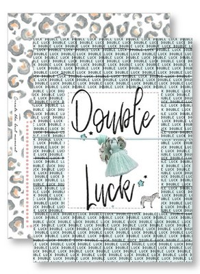 Lucky Armband Kaartje - Double Luck