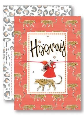 Lucky Armband kaartje - Hooray
