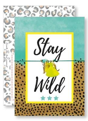 Lucky Armband Kaartje - Stay Wild