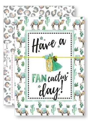 Lucky Armband Kaartjes - Have a Fancactus Day