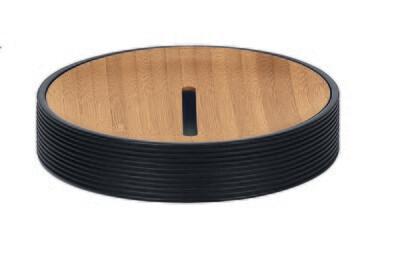 Sumba Zeepschaal Zwart 210318
