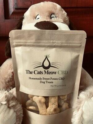 Sweet Potato CBD Dog Treats