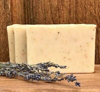 Lavender Goat's Milk Soap - All Natural Exfoliating