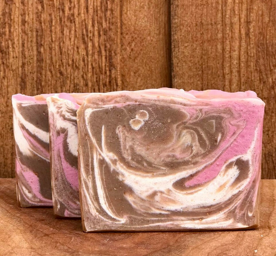 Sandalwood & Rose Goat's Milk Soap