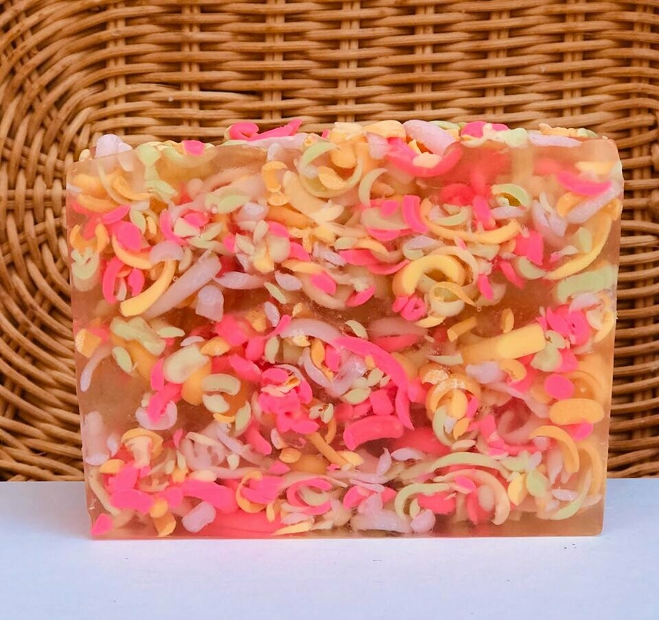 Honeysuckle Blossoms - Glycerin Soap