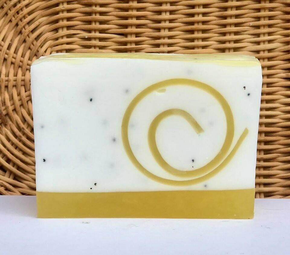 Lemon Poppyseed - Glycerin Soap