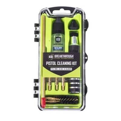 Breakthrough Vision Series Pistol Cleaning Kit- 9mm /.40 /.45 Cal BT-CCC-P