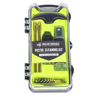 Breakthrough Vision Series Pistol Cleaning Kit – .357 Cal / .38 Cal / and 9mm BT-ECC-9