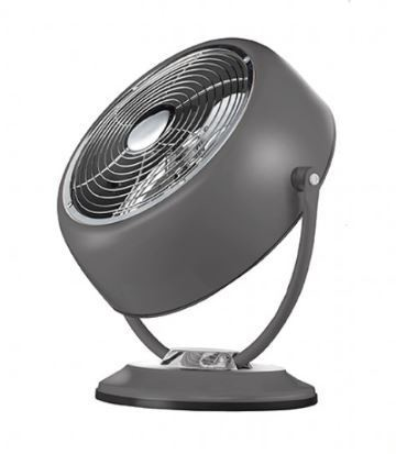 "Smple 8"" Smith Metal Retro Fan (Gunmetal Gray)"