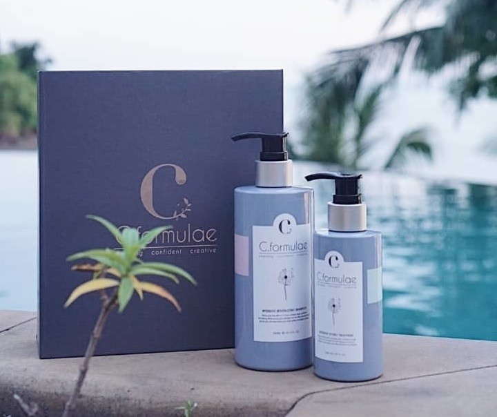C. Formulae Revitalise Hair Care (Shampoo 300ml + Hydro Treatment 150ml) TWIN BOX