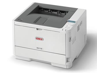 OKI Mono Printer B412dn (c/w Power Cord & USB Cable)