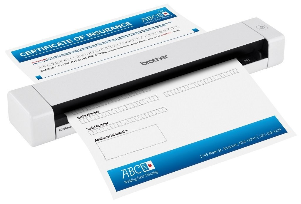 Brother DS-620 Mobile Document Scanner