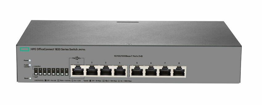HPE OfficeConnect 1820 8G Switch J9979A