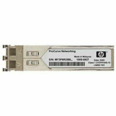 HPE X120 1G SFP LC SX Transceiver JD119B