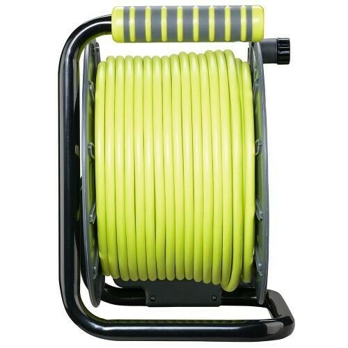 Masterplug 50M Pro-XT Open Reel Portable Extension Cable OLU50134SL-PX