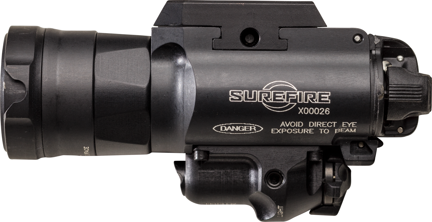 Surefire X400UH-A-RD Ultra-High-Output White LED + Red Laser WeaponLight (PRE ORDER)