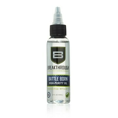 Breakthrough Clean Battle Born High Purity Oil – 2 fl oz  (59ml) Bottle BTO-2OZ