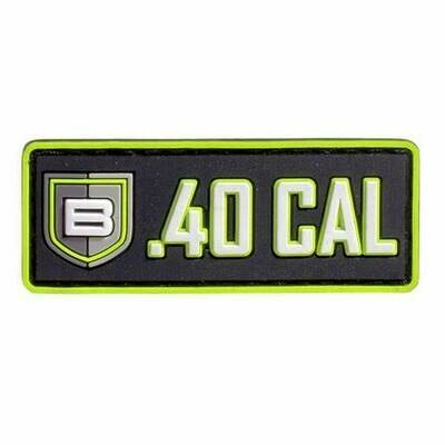 Breakthrough Caliber PVC patch with Velcro® Backing PATCH - 40CAL