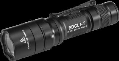 Surefire EDCL1-T Dual-Output Everyday Carry LED Flashlight (500 Lumens)