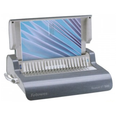 Fellowes Quasar-E 500 Electric Comb Binder