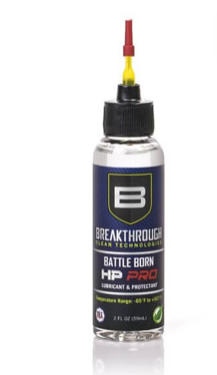Breakthrough Clean Battle Born HP Pro Lubricant &  Protectant 2 fl oz  (59ml) Bottle HPPRO-2OZ-NTA