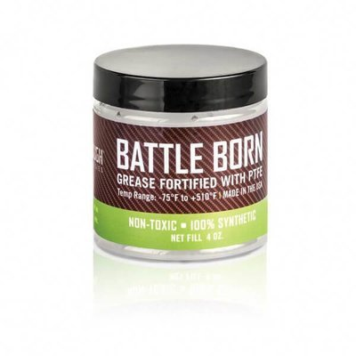 Breakthrough Clean Battle Born Grease Fortifield With PTFE 4oz (118ml) Jar BTG-4OZ