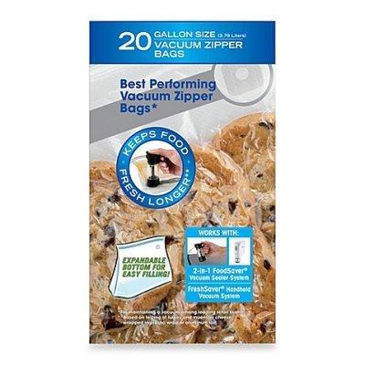 FoodSaver Galloon Zipper Bag #FSFRBZ0336-NP