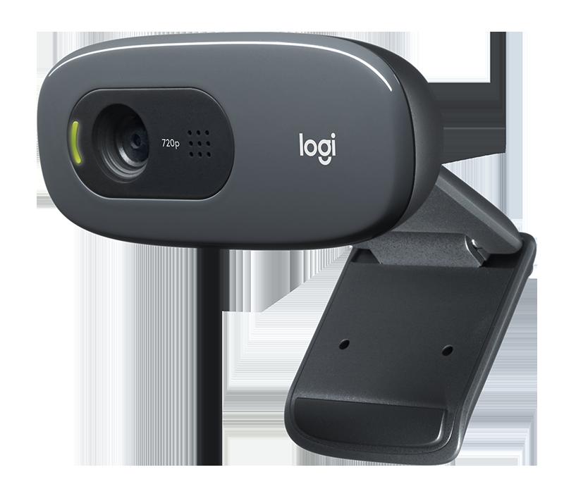 Logitech HD Webcam C270 + Mono Headset
