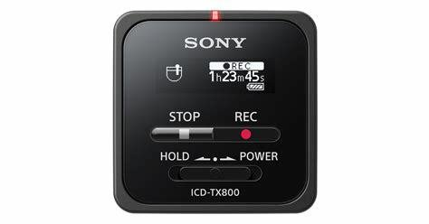 Sony TX800 Digital Voice Recorder TX Series ICD-TX800