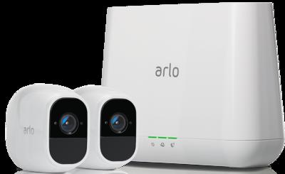 Netgear Arlo Pro 2 Smart Security System with 2 Cameras VMS4230P-100EUS