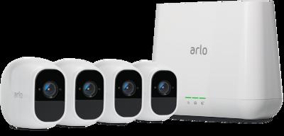Netgear Arlo Pro 2 Smart Security System with 4 Cameras VMS4430P-100EUS