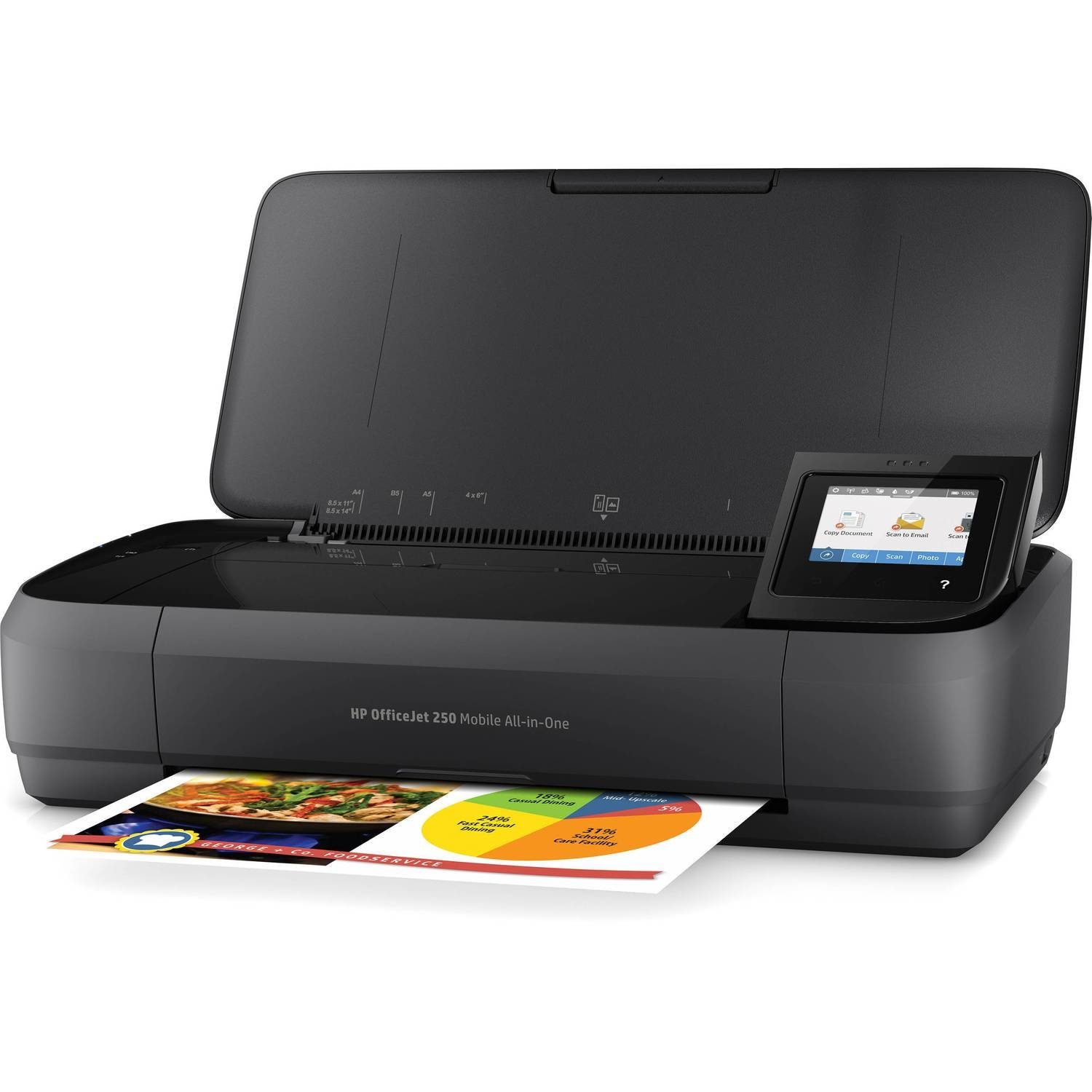 HP OfficeJet 250 Mobile AiO Printer