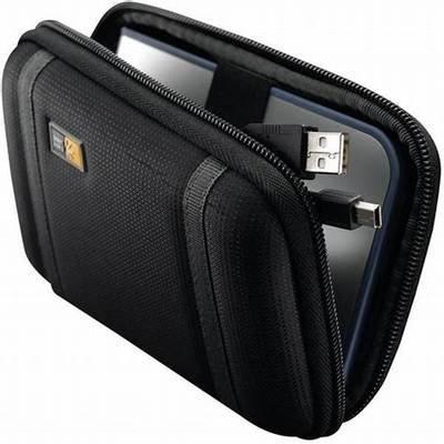 Case Logic Compact Portable Hard Drive Case PHDC1