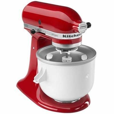KitchenAid Ice Cream Maker Attachment KICA0WH
