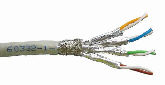 Dintek PowerMAX+ Cat.6A S/FTP 23AWG PVC Cable Grey (305M/Drum) 1105-06001