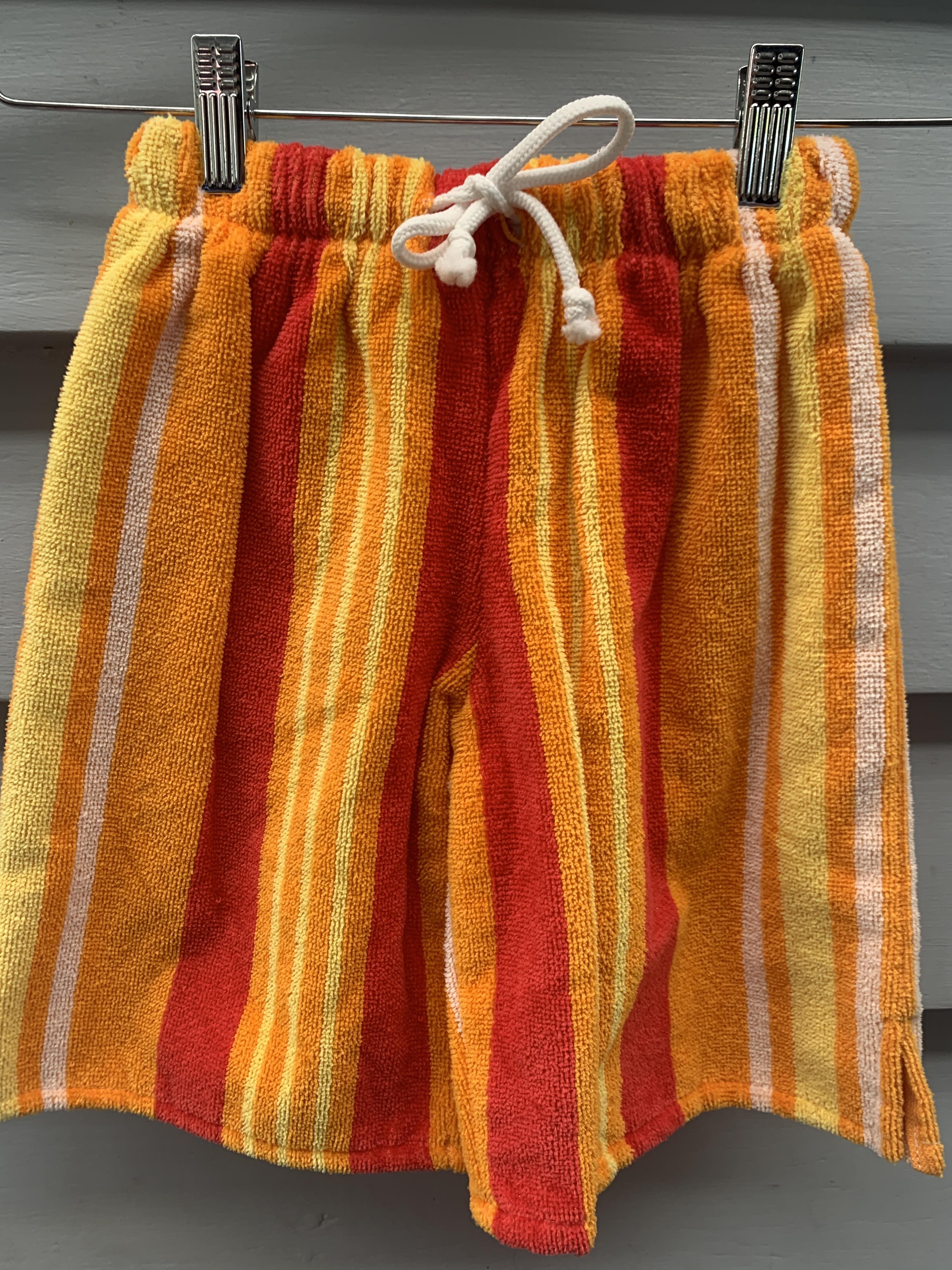 Orange Stripe Pants TT 00127