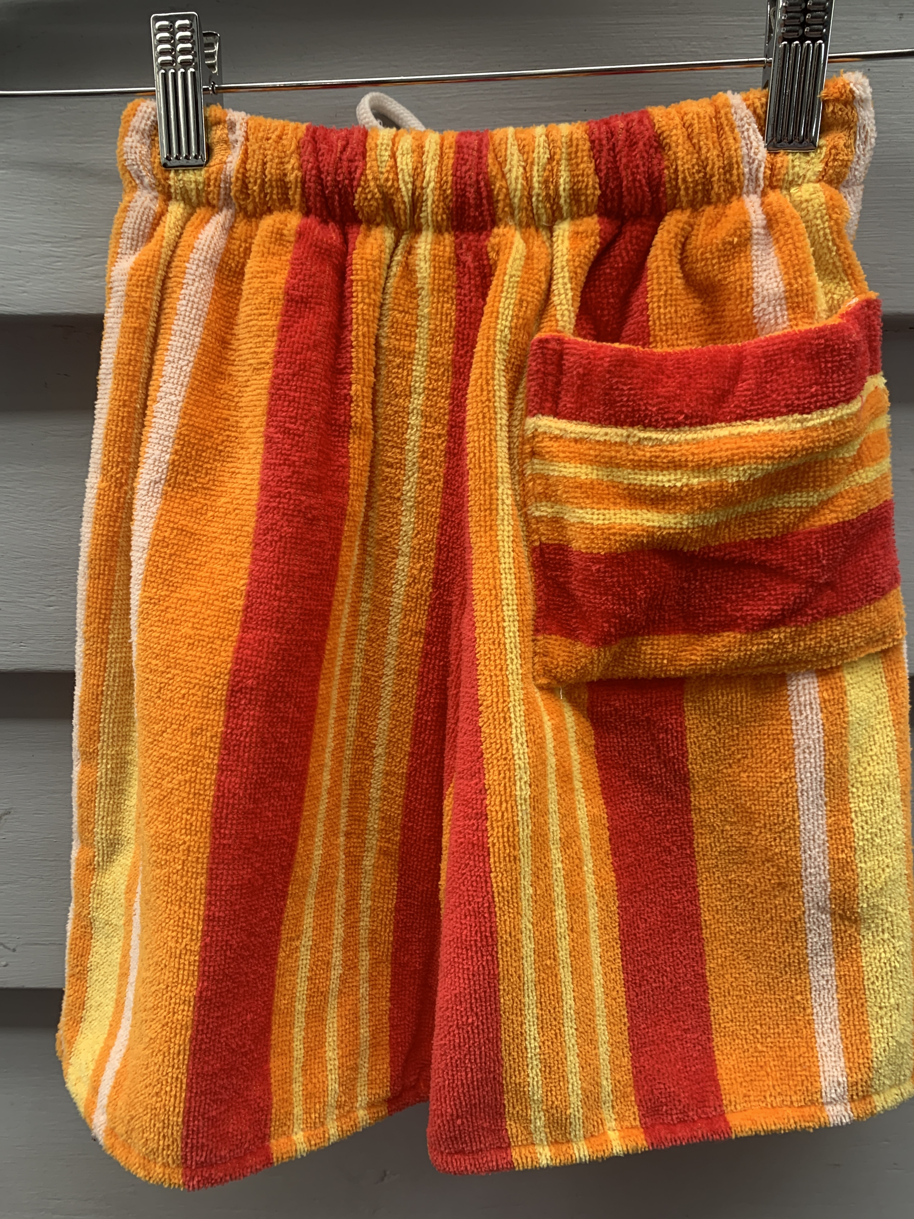 Orange Stripe Pants TT