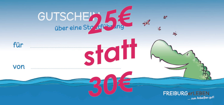 *KROKODIL FRISST CORONA* 25€ statt 30€ für eine kulinarische Stadtführung