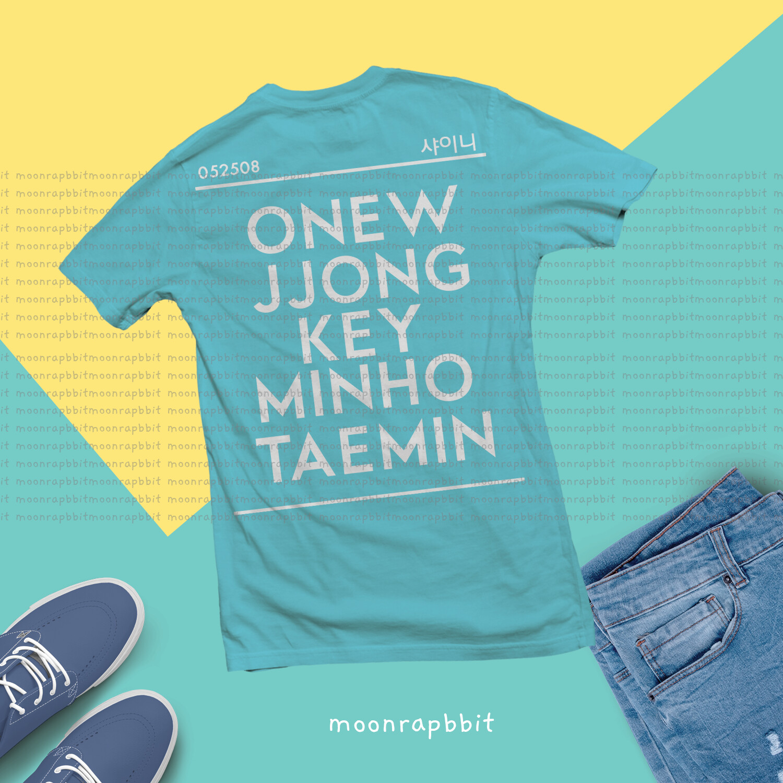 Shirt: Shinee Names