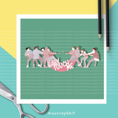 Enamel Pin: NCT 127-Touch