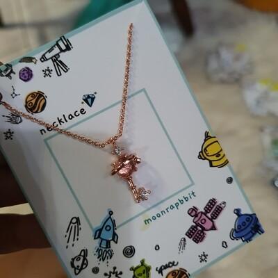 Necklace: Key Birthday Necklace