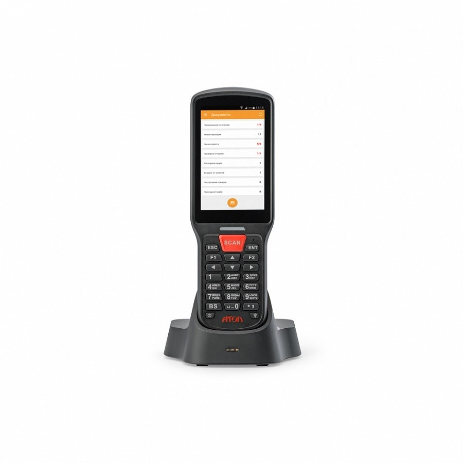 "Мобильный терминал АТОЛ SMART.Lite (Android 7.0, 2D Imager, 4"", 2Гбх16Гб, Wi-Fi b/g/n, 5200 mAh, Bluetooth, БП)"